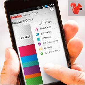 Thẻ nhớ Micro SD 16G chính hãng trên điện thoại