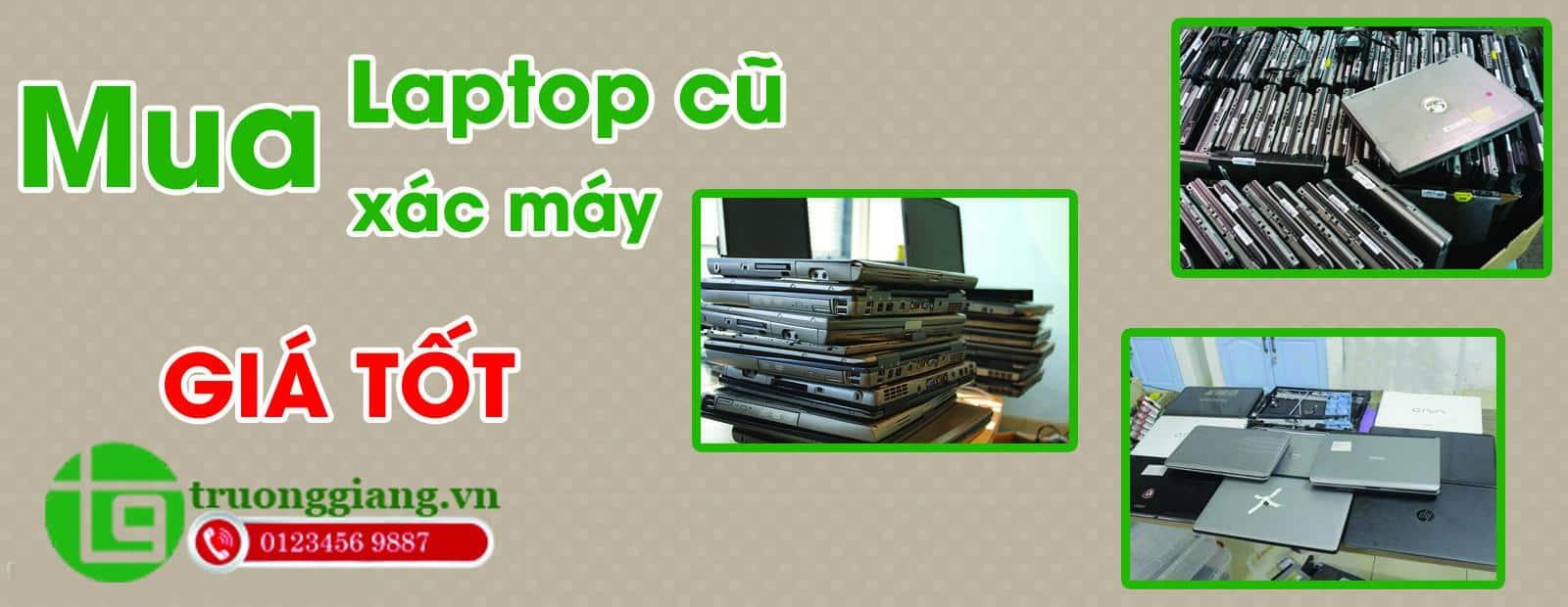 Thu mua laptop cũ giá cao tại Đà Nẵng