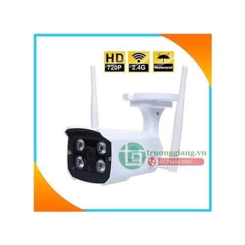 Camera Wifi IP Không dây quan sát ngoài trời chịu mưa gió.