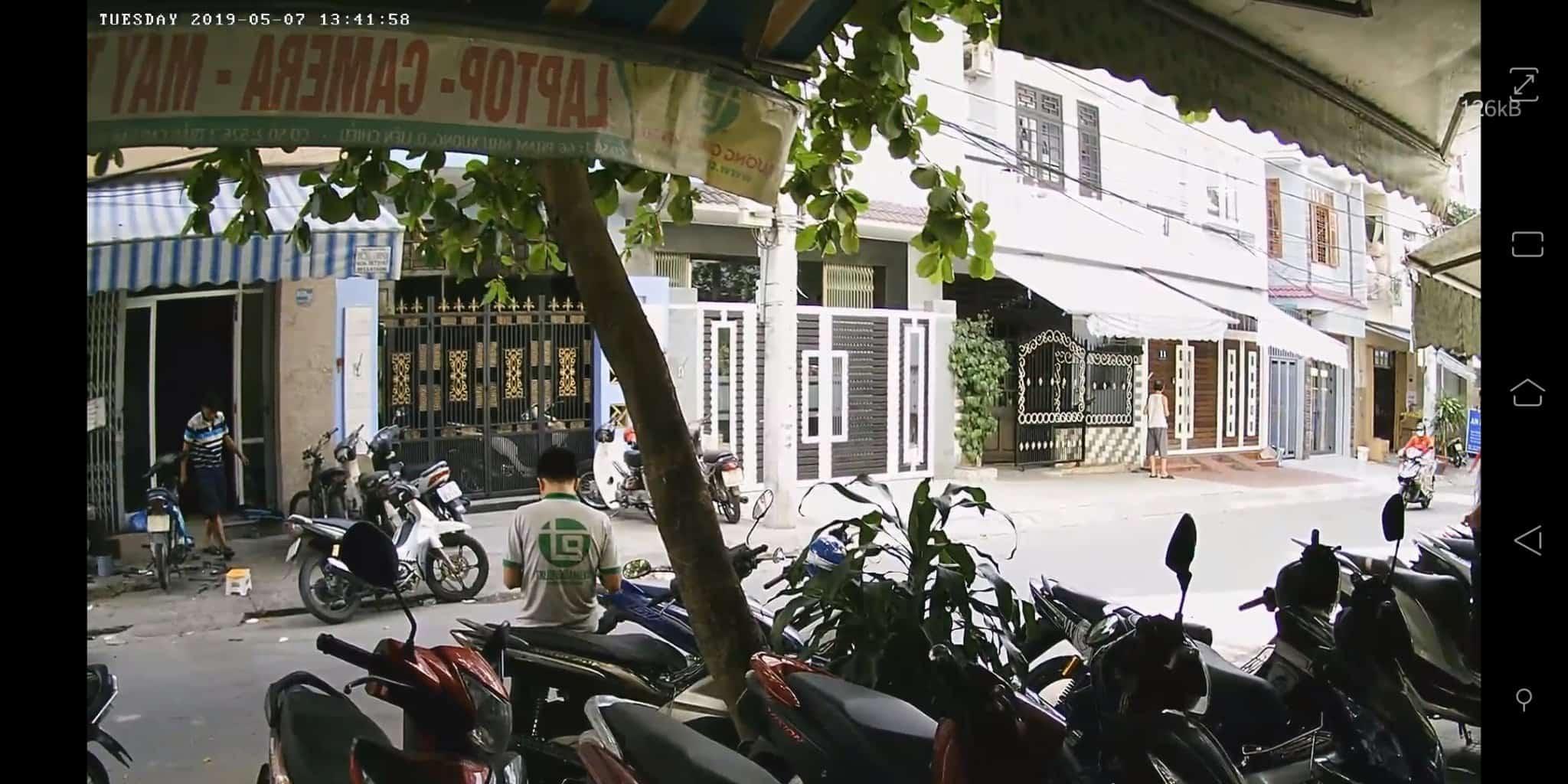 Demo hệ thống camera tại Đà Nẵng