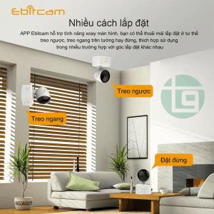 dễ dàng lắp đặt camera ip wifi ebitcam 1.0 mp