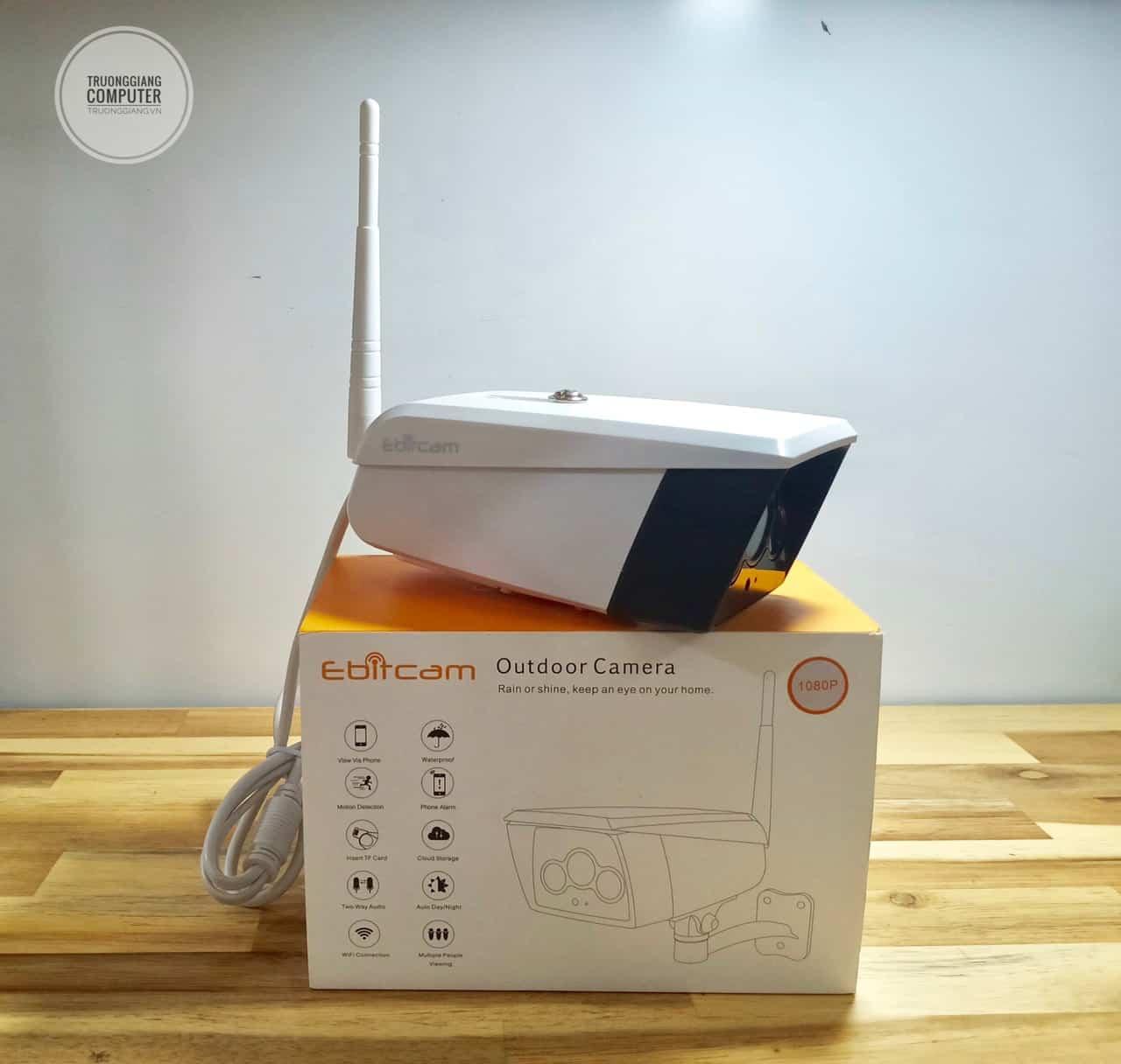 Camera wiif ngoài trời Ebitcam EB02 2.0 MP