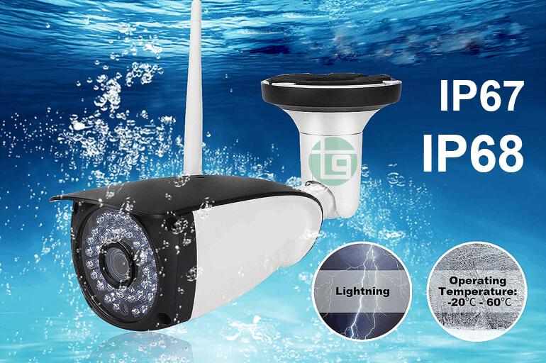 camera chống nước bụi chuẩn ip 67