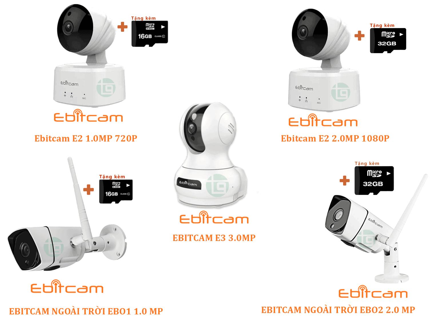 Camera Ebitcam Đà Nẵng giá rẻ chính hãng - KM MUA 1 TẶNG 1