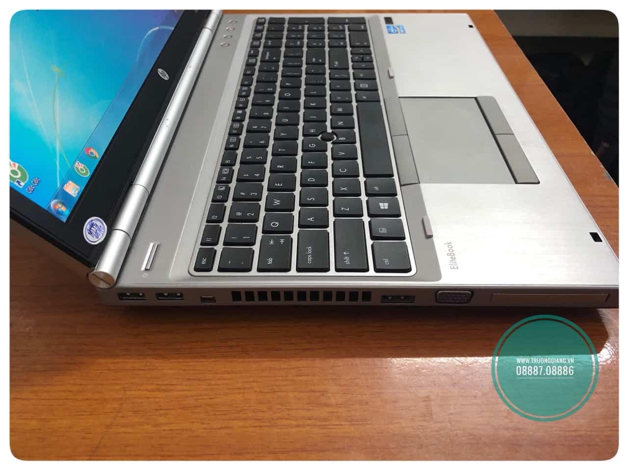 thiết kế HP Elitebook 8560P