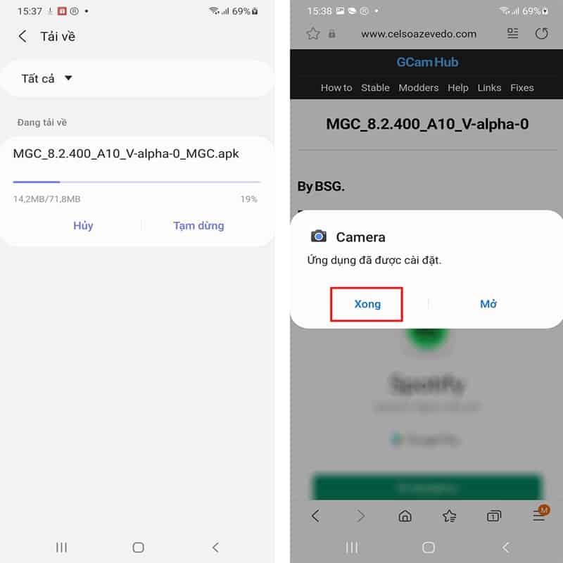 Hướng dẫn tải Google Camera 8.2.4 mới