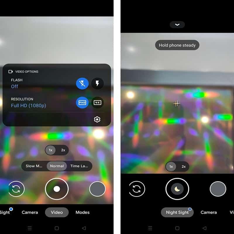 Các tính năng mới trên Google Camera 8.2.4