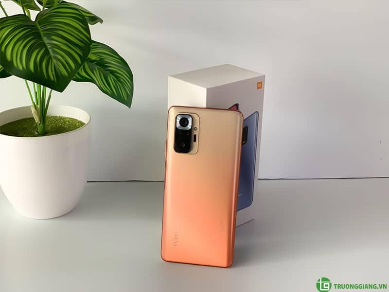 Thiết kế Điện thoại Redmi Note 10 Pro