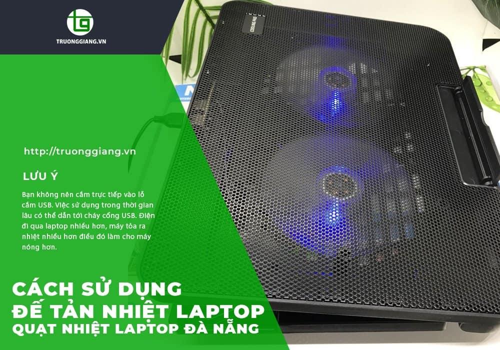 Cách sử dụng quạt tản nhiệt Laptop Đà Nẵng