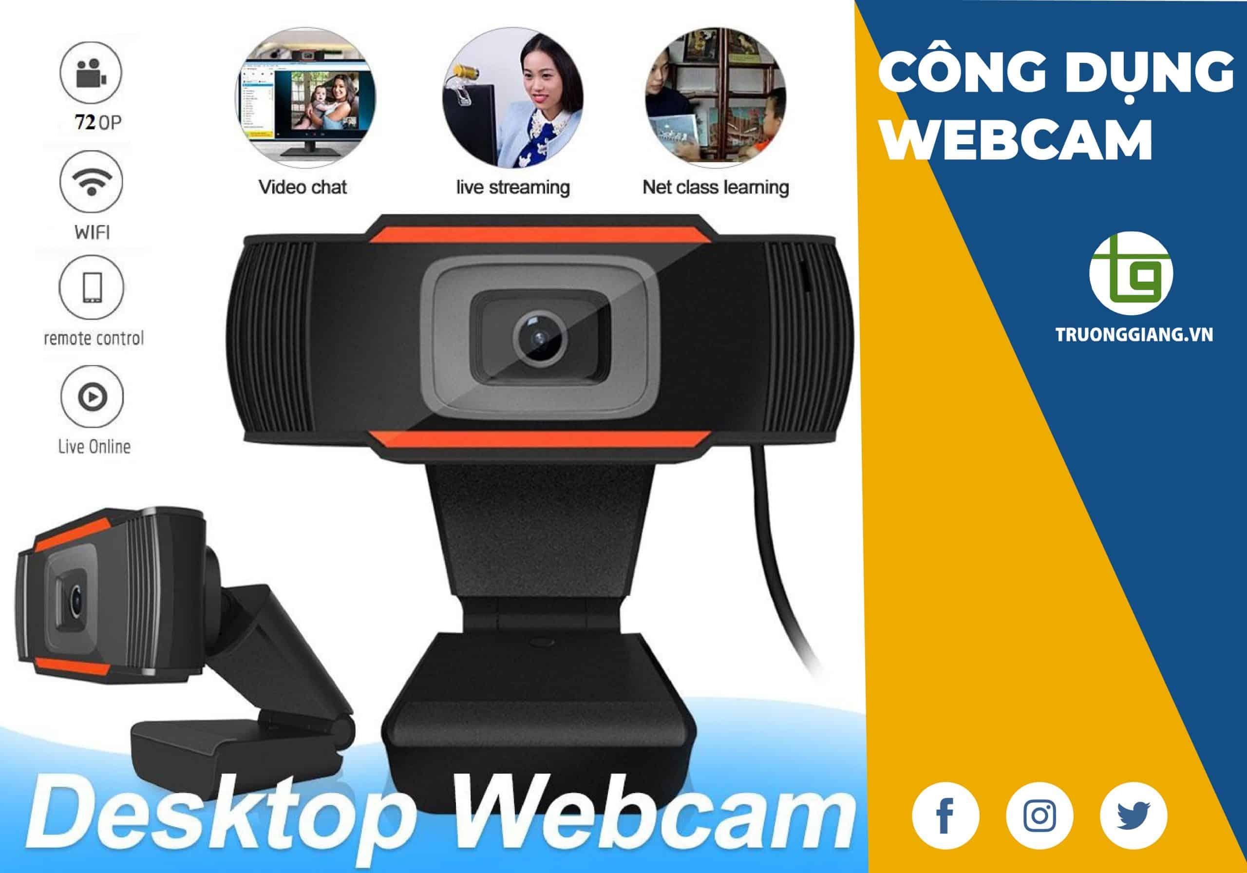 công dụng tuyệt vời của webcam Đà Nẵng