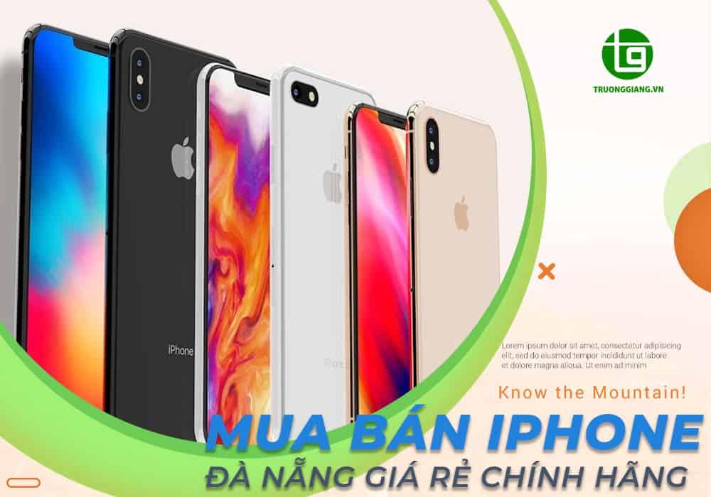Mua bán iphone Đà Nẵng giá rẻ chính hãng