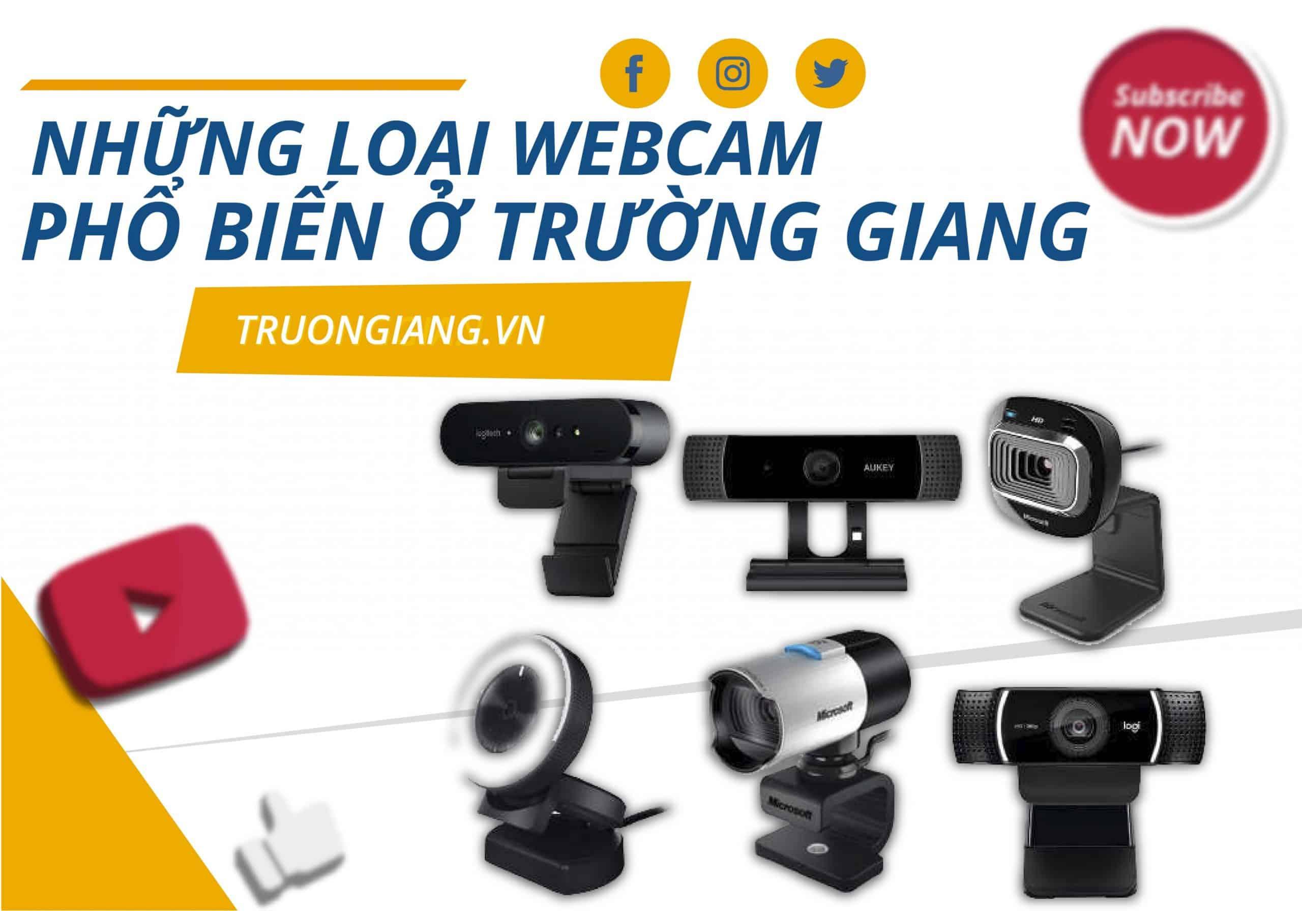 Những loại webcam Đà Nẵng phổ biến tại Trường Giang Computer