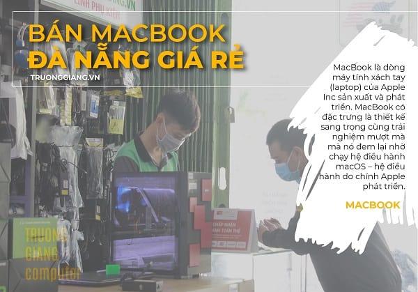 Bán Macbook Đà Nẵng giá rẻ